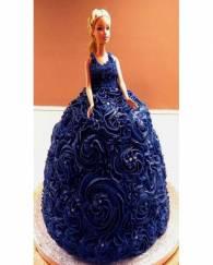 Blue Queen Cake - 3 KG