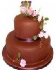 2 Tier Chocolate Cake - 3 KG