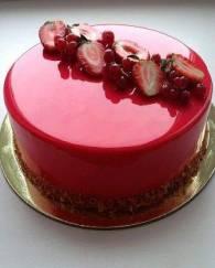 Mirror Glaze Cake - 1 KG