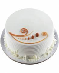 Beautiful vanilla cake