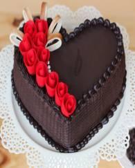 choco-truffle-heart-shape-cake