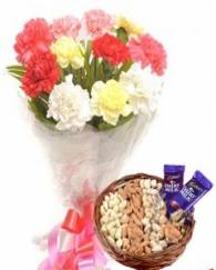 Flowers with Dry Fruits