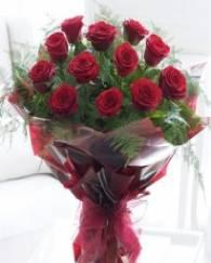 10 Premium Red Rose Bunc