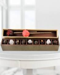 Assorted Chocolates With Love Sticks