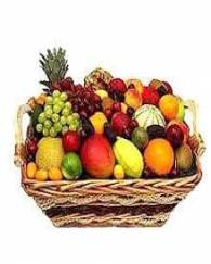 5 Kg Fresh Mix Fruits Basket