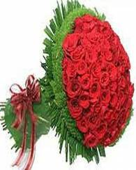 Bunch of 60 Red Roses Lovely Bouquet