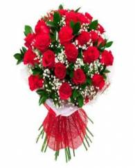 25 Red Rose Bunch