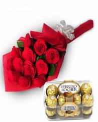 Chocolate With Rose