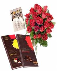 Rose with Chocolate combo