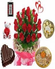 Valentine Combo at Door
